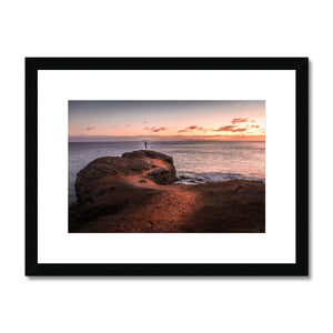 Sunset Dreamer! - Playa Blanca, Lanzarote Framed & Mounted Print