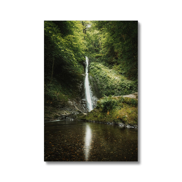 The White Lady - Lydford Gorge, Dartmoor Canvas