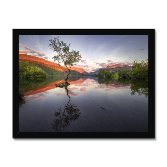 Llyn Padarn - Snowdonia National Park, Wales, United Kingdom Framed Print