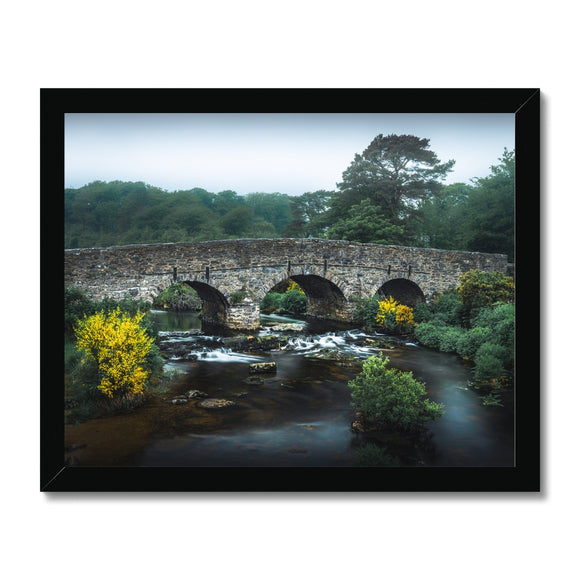 Yellow and Green - Postbridge, Dartmoor Framed Print