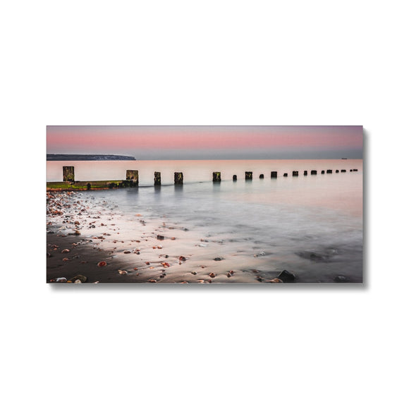Calmness- Shanklin Beach, Isle of Wight Canvas - Sydspicsprints