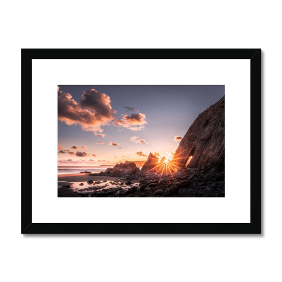 Blinded - Marloes Sands, Pembrokeshire Coast, Wales, United Kingdom (LIMITED EDITION) Framed & Mounted Print