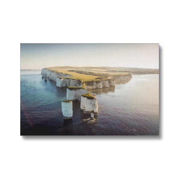 Harry and his family! - Old Harry Rocks, Jurassic Coast Canvas