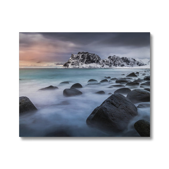 A palette of colours - Uttakleiv Beach, Lofoten Canvas