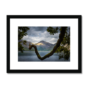 Triangles - Wast Water, Lake District, United Kingdom Framed & Mounted Print