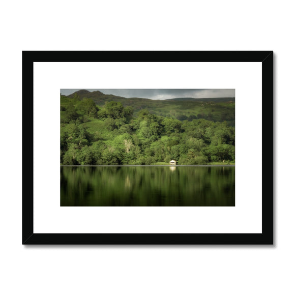 Dream in Green - Rydal Water, Lake District, United Kingdom Framed & Mounted Print