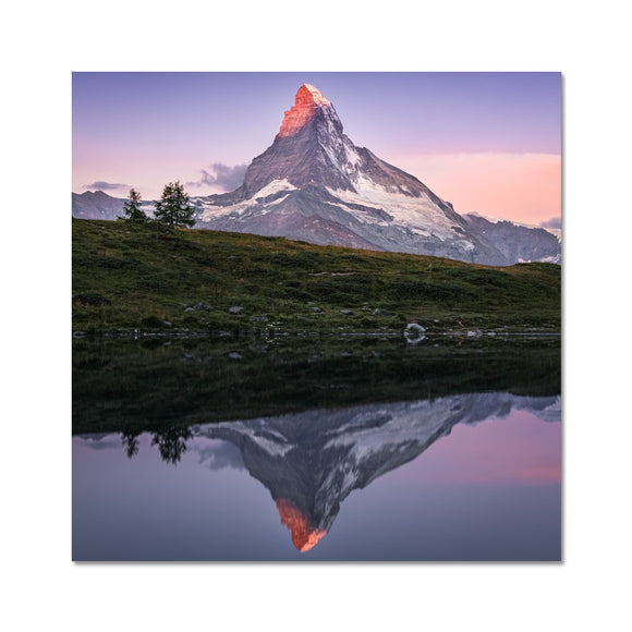 Crown of Fire! - Leisee, Switzerland Fine Art Print