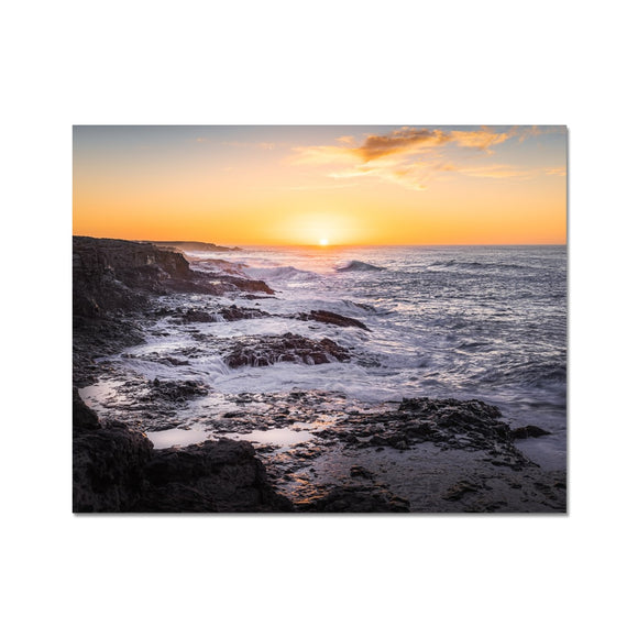 Where forces of nature collide! - Janubio, Lanzarote Fine Art Print