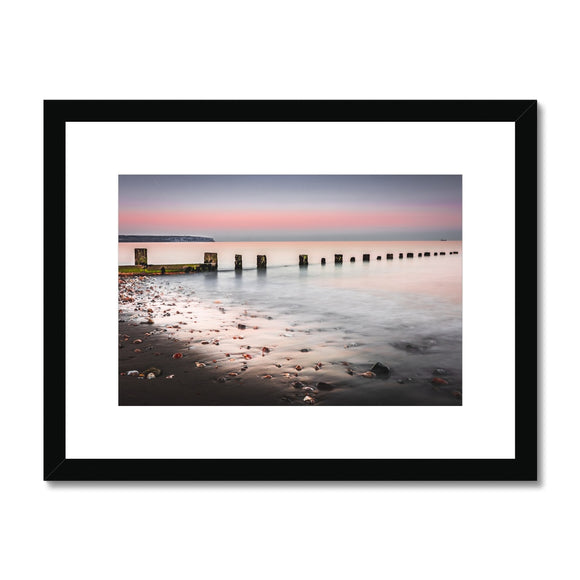 Calmness- Shanklin Beach, Isle of Wight Framed & Mounted Print - Sydspicsprints