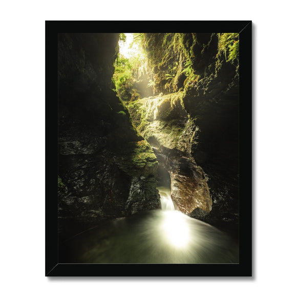 The Devil's Cauldron - Lydford Gorge, Dartmoor Framed Print