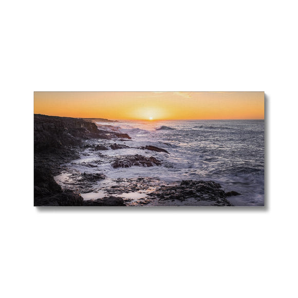 Where forces of nature collide! - Janubio, Lanzarote Canvas