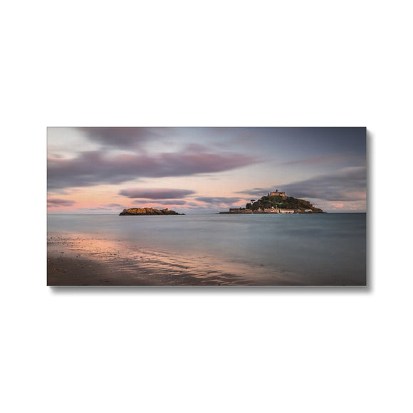 Hoar rock in woodland!  - St Michael's Mount, Cornwall Canvas - Sydspicsprints