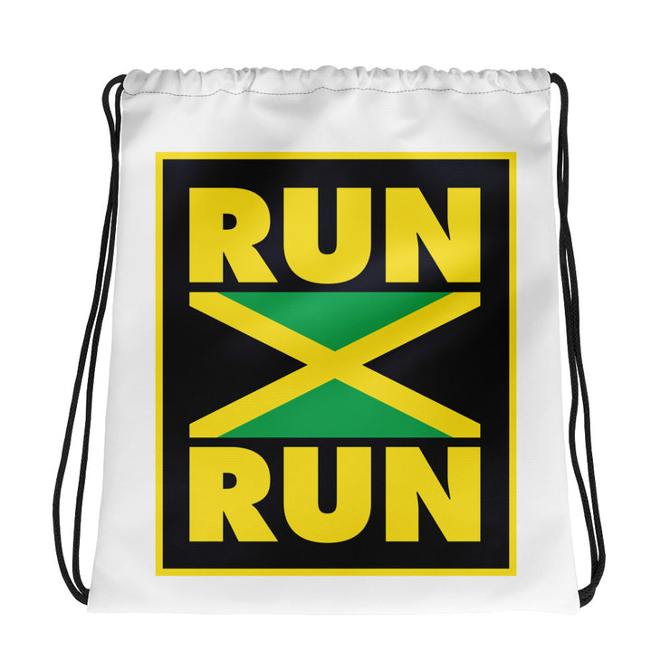 Run Jamaica Run Drawstring bag