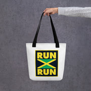 Run Jamaica Run Tote bag