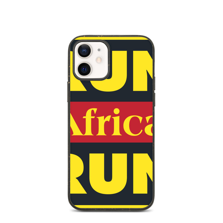 Run Africa Run Biodegradable phone case
