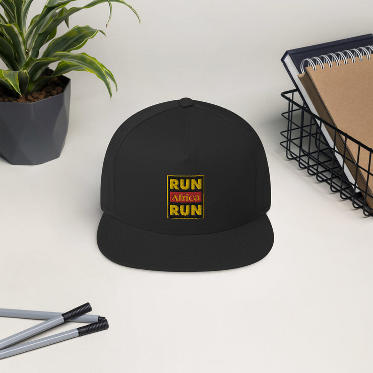 Run Africa Run Flat Bill Cap