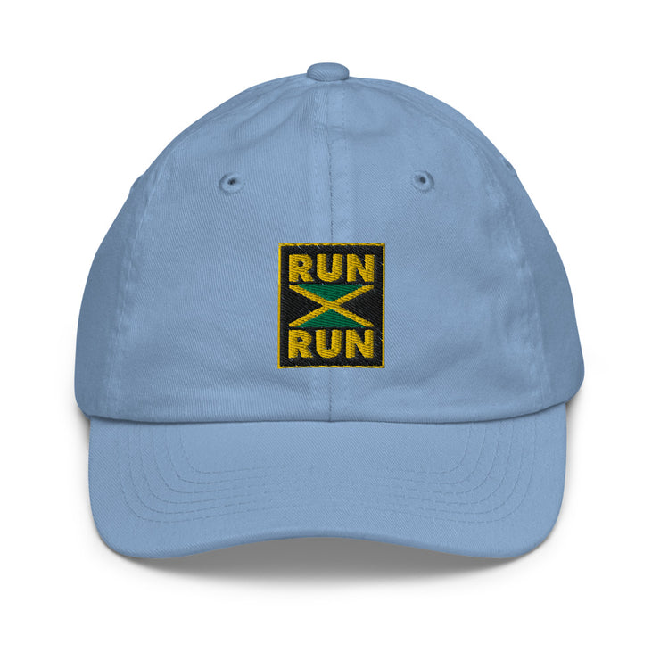 Run Jamaica Youth baseball cap