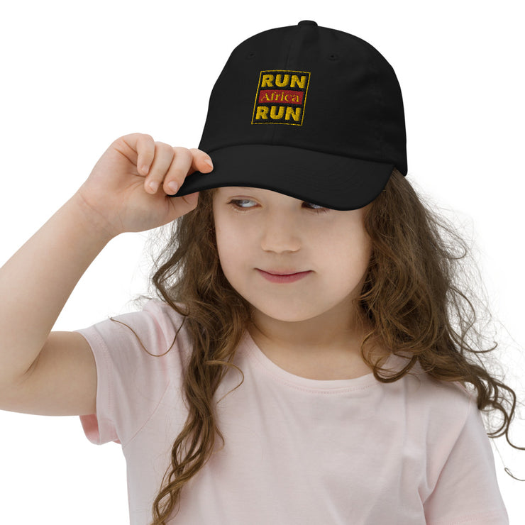 Run Africa Run Youth baseball cap