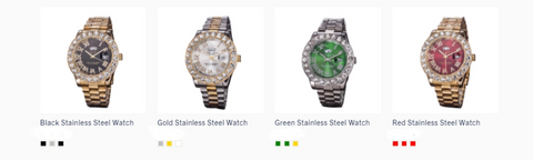 iced out watches