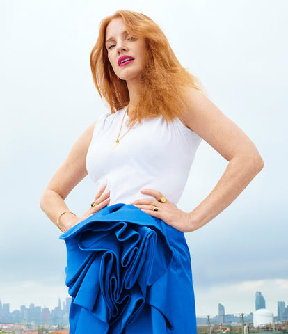 Jessica Chastain in Rondel