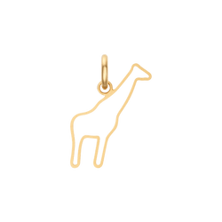Hollow Giraffe Charm