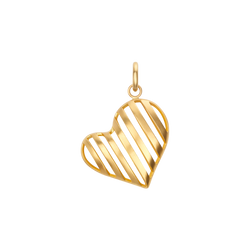 Caged Heart Charm