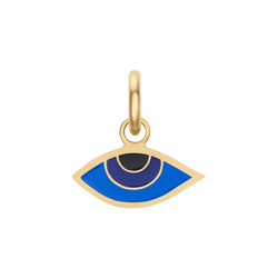 Blue Enamel Evil Eye Charm