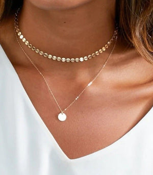 Pendant Choker Necklace
