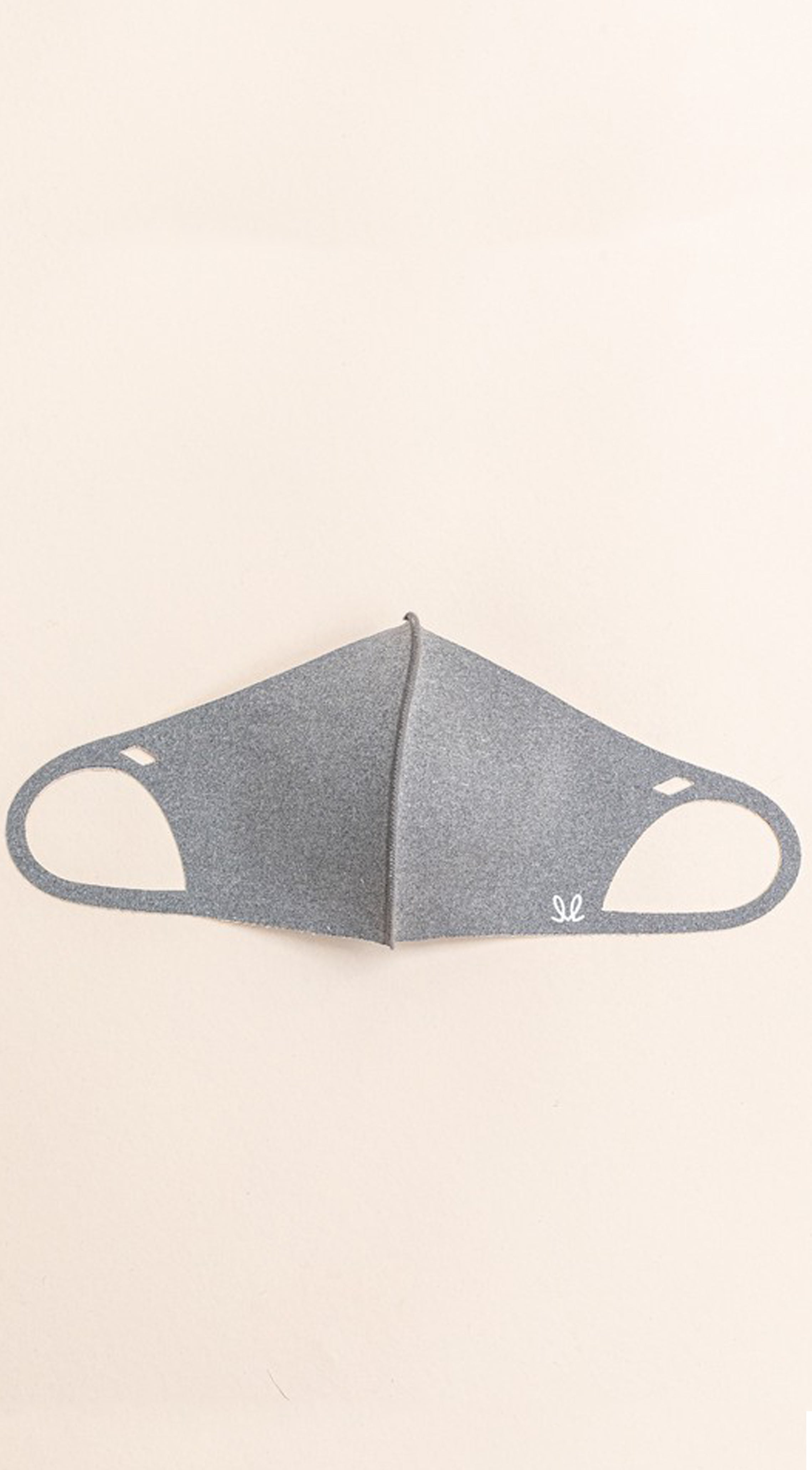 Grey Anti-Bacterial Reusable Face Mask