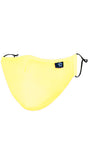 Yellow Adjustable Reusable Face Mask