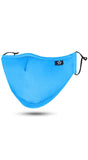 Light Blue Adjustable Reusable Face Mask