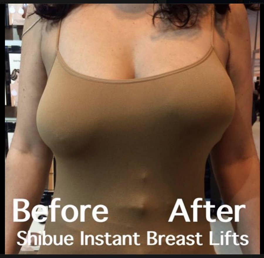 Instant Breast Lift