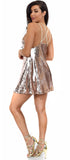 Lorna Rose Gold Sequin Dress