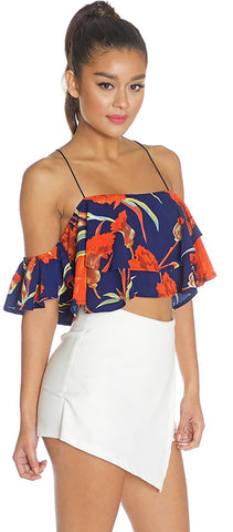 Cypress Navy Floral Top