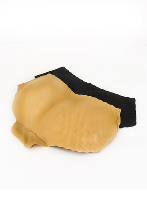 Seamless Beige Padded Panty