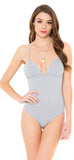 Basis Grey Bodysuit - Emprada