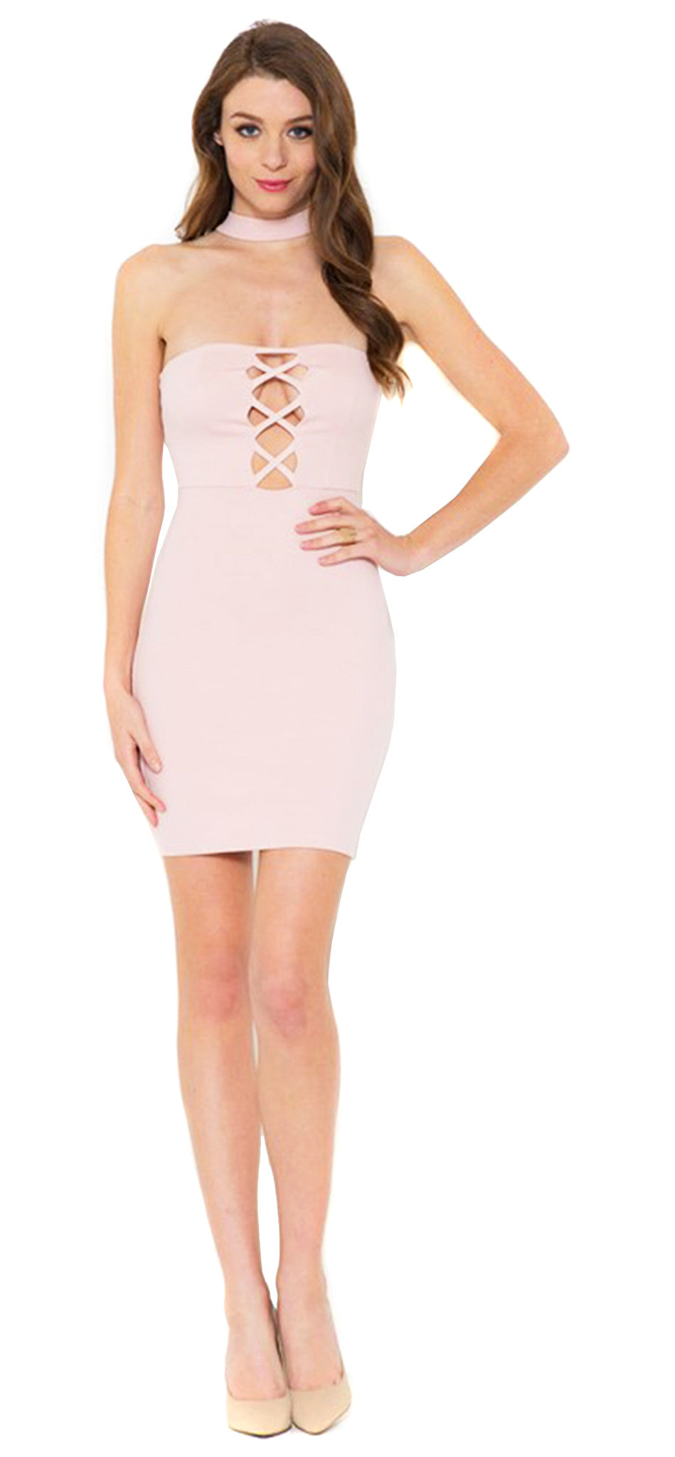 Nothing Like Me Blush Dress - Emprada