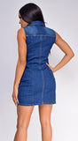 Rock Your Body Blue Denim Dress