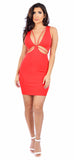 Evita Red Dress - Emprada