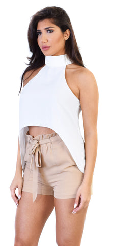 Kali Ivory High Low Top - Emprada