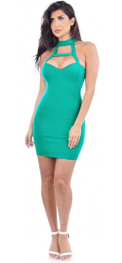 Indra Jade Mini Dress - Emprada