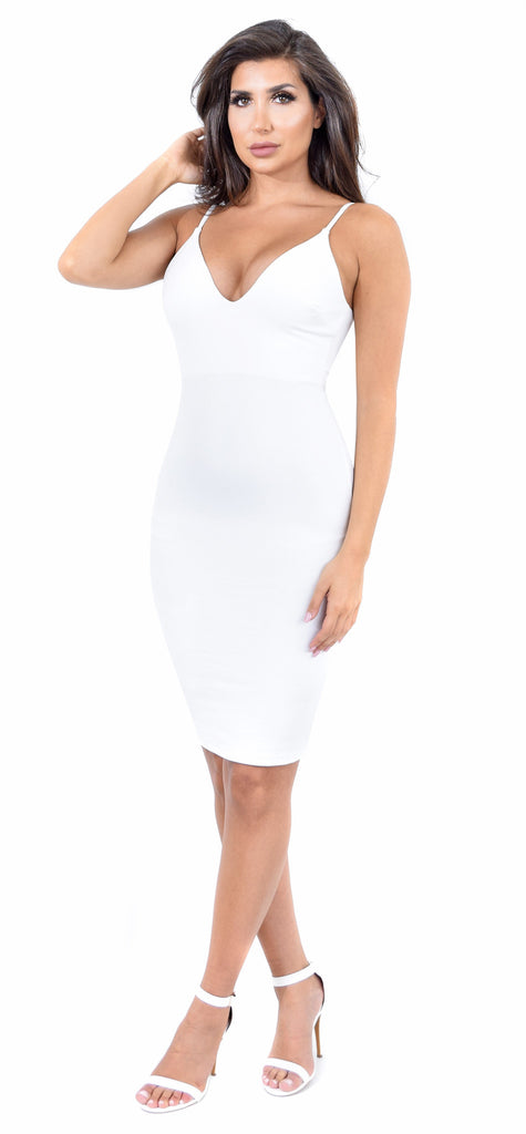 Savanne White Dress