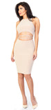 Bellissima Nude Front Criss Cross Dress - Emprada