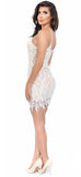 Denice White Lace Dress - Emprada