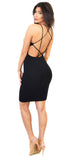 Multi Cross Back Tank Dress - Emprada