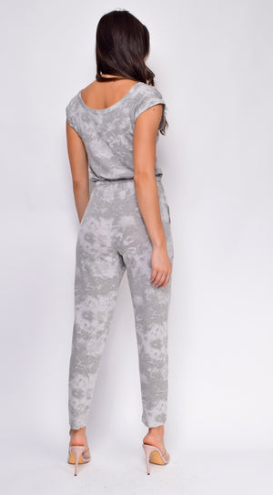 Lilly Grey Tie-Dye Jumpsuit