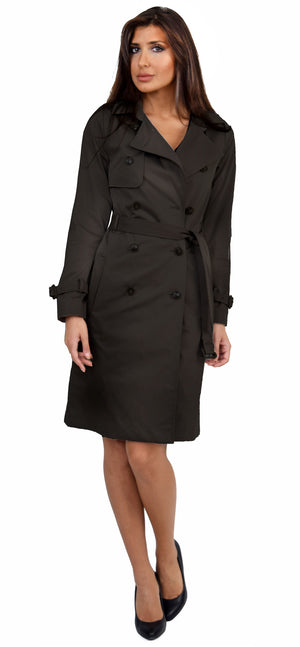 Black Classic Trench Coat - Emprada