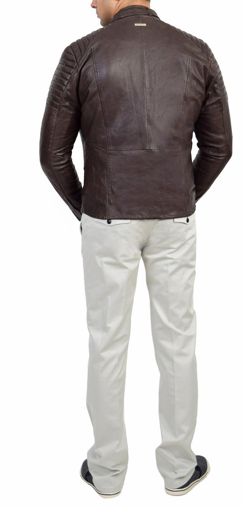 Jack Coco Biker Leather Jacket - Emprada