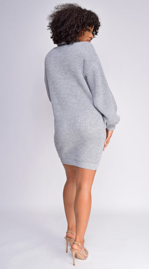 Tatyana Grey Oversized Sweater dress