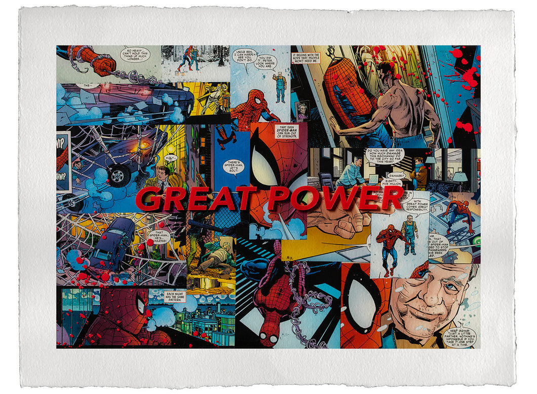 Great Power - Print
